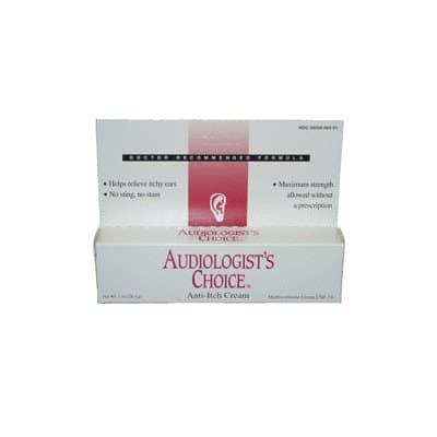Audiologist's Choice Anti-Itch Cream