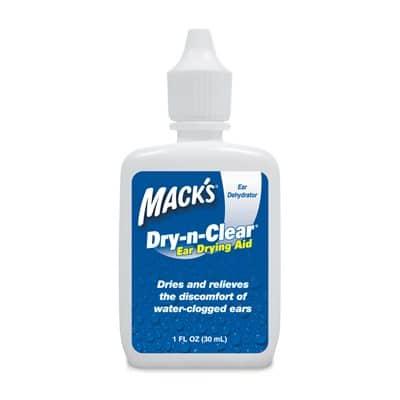 Mack's Dry-N-Clear Drops (1 oz bottle)