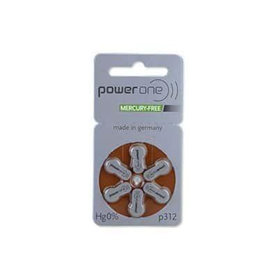 PowerOne MF Batteries Size 312