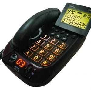 Clarity Alto Plus Digital Corded Phone with Caller ID