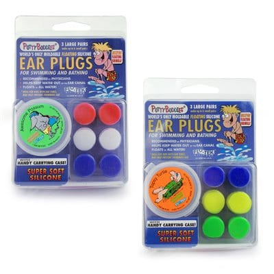 Putty Buddies Earplugs - Floatable (3 pairs)